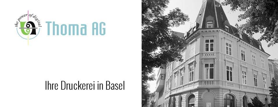 Ihre Druckerei in Basel!