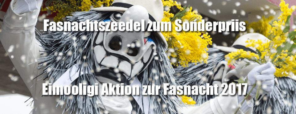 Fasnachts-Aktion 2017